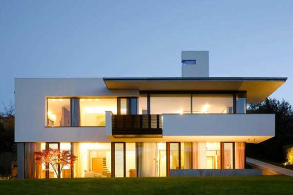 House B Wald Alexander Brenner Colored Volumes and Plenty of Natural Light   House B Wald