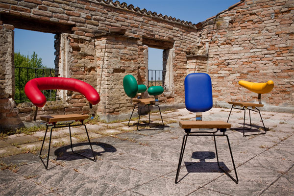 Individuale Full Set Fun Individuale Chair Collection by Life Given A Shape