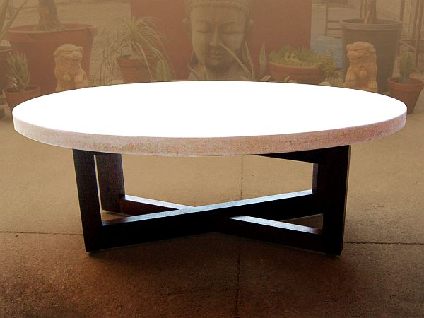 Kane Coffee Table - Concrete Coffee Tables: Holding Up To Wear And Tear