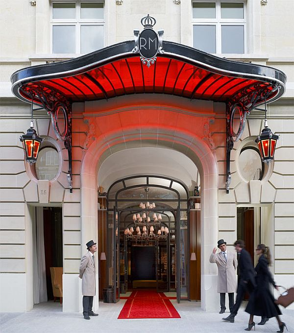 Le Royal Monceau Hotel 1 Hotel Design: Le Royal Monceau Hotel in Paris Spells Luxury