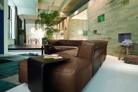Superb Leather Sofa: Rolf Benz MIO by Norbert Beck