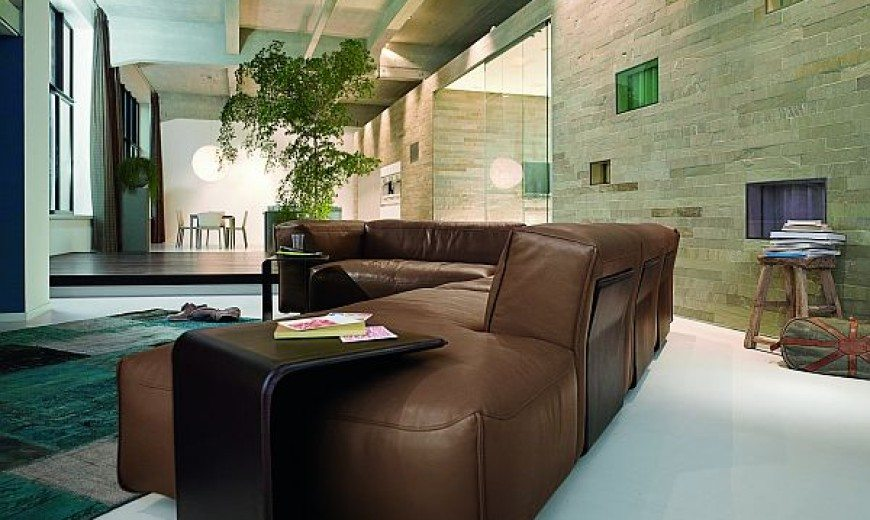 Rolf Benz Bank Design.Superb Leather Sofa Rolf Benz Mio By Norbert Beck