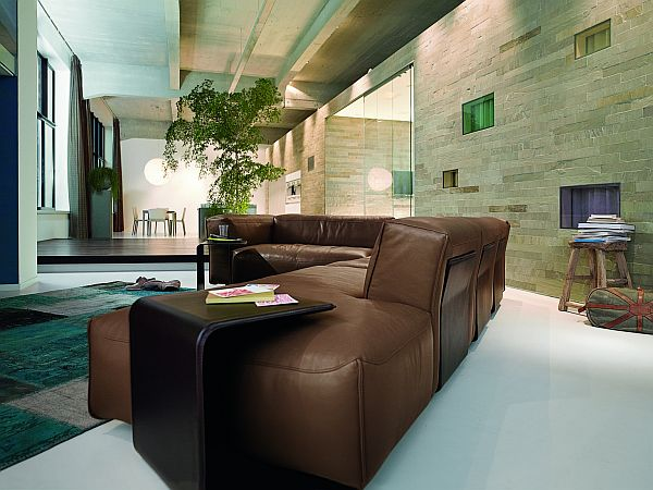 Leather Corner Sofa Rolf Benz MIO 2 Superb Leather Sofa: Rolf Benz MIO by Norbert Beck