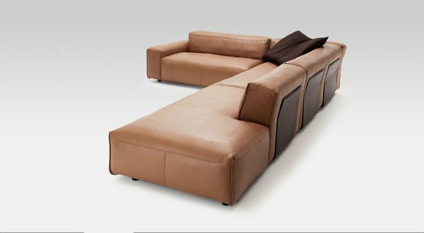 Superb Leather Sofa Rolf Benz Mio By Norbert Beck