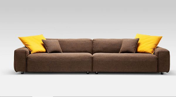 Leather Corner Sofa Rolf Benz MIO 7