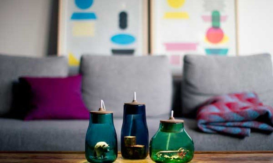 A Perfect Home for Your Trinkets: Light Jars by Kristine Five Melvaer
