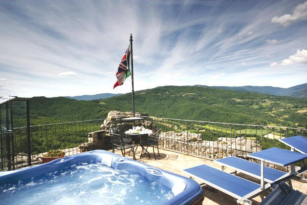 Luxury Villa Tuscany Italy 12 Luxurious Medieval Renato Tower Stands Tall in Umbria, Italy