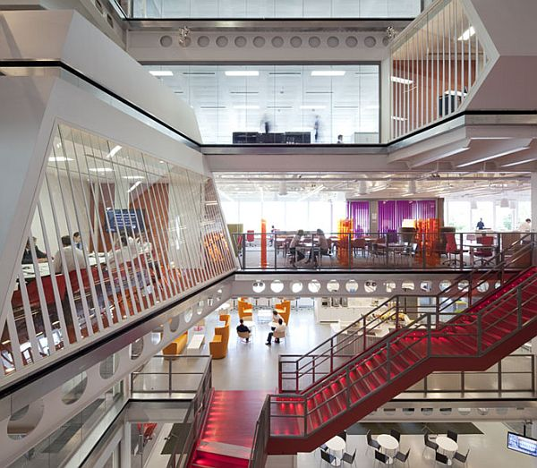 Macquarie Group London Offices Based On Theme Transparency