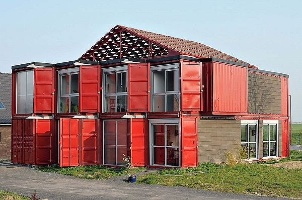 Maison Container by Patrick Partouche 1 Container House With Luxury Living Spaces