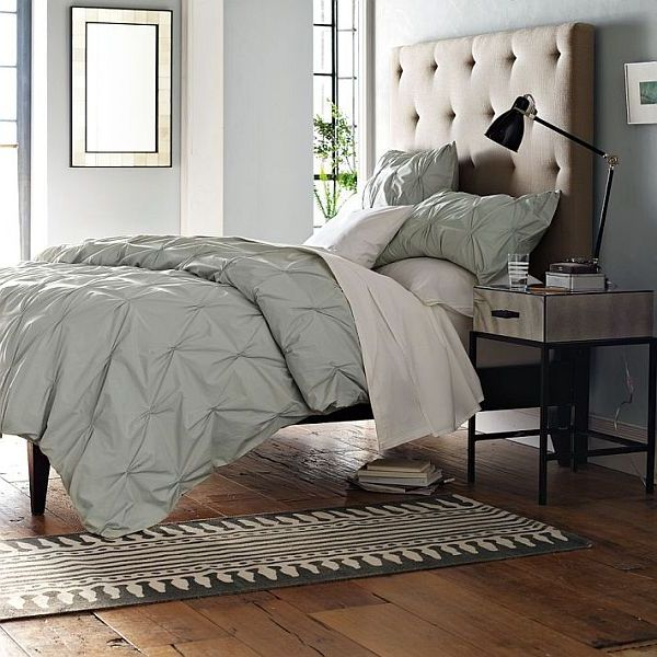 Modern diamond tufted headboard Modern Headboards to Make Your Bedroom Perfect