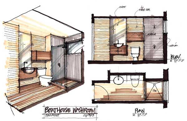 Muskoka Contemporary Boathouse 12