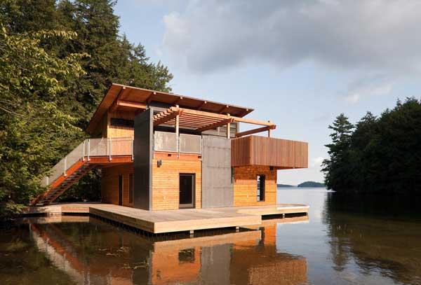 Muskoka Contemporary Boathouse 3