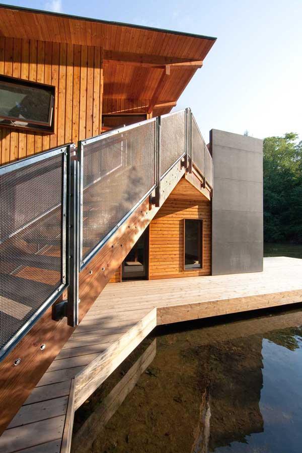 Muskoka Contemporary Boathouse 4