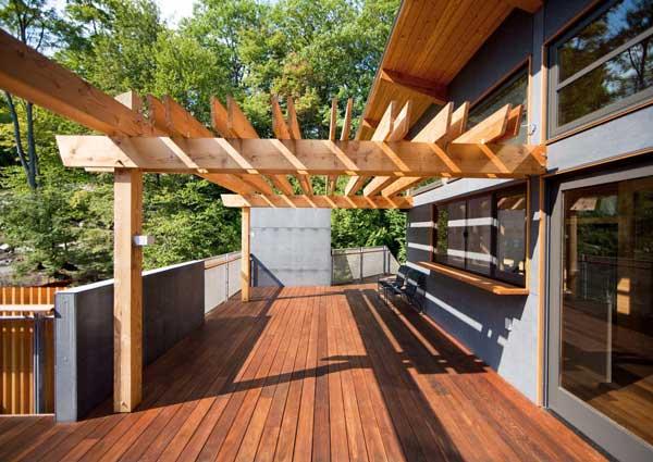 Muskoka Contemporary Boathouse 5