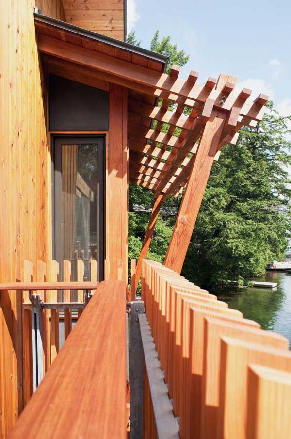 Muskoka Contemporary Boathouse 6