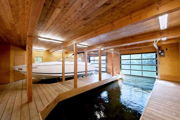 Muskoka Contemporary Boathouse 7