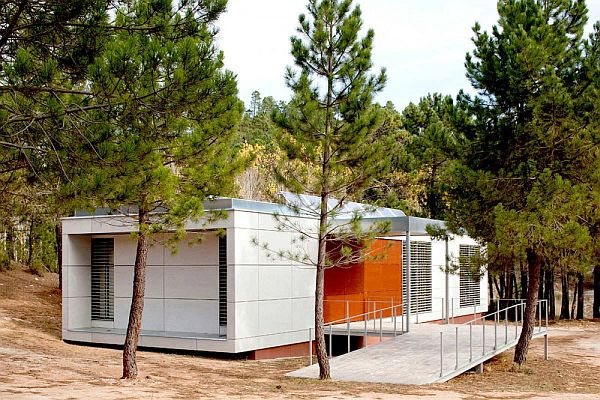 Nature Center Albacete - Eco Friendly Building