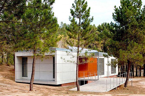Nature Center Albacete - Eco Friendly Building