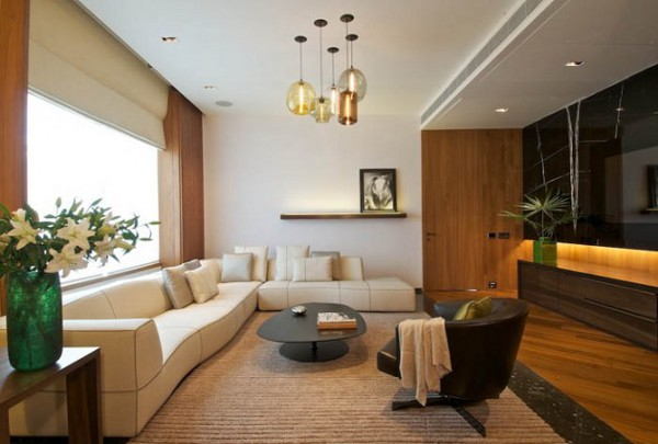 New Delhi Interior by Rajiv Saini 1 Imposing New Delhi Interior Exudes Sophistication