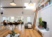 Old Garage Turned Into Fabulous Home (Knott Architects, UK)