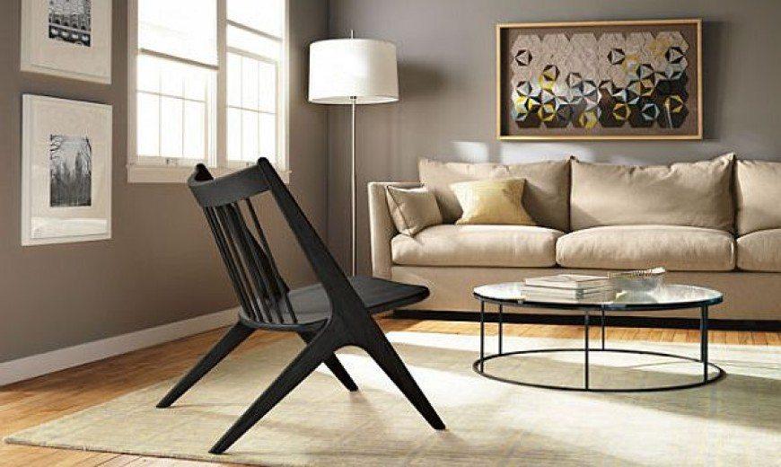 Sculpted Oskar Armless Lounge Chair: Showcasing the Beauty of Wood