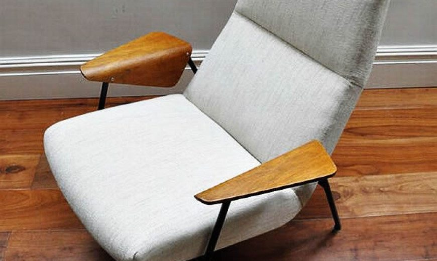 German Inspiration: Very rare Arno Votteler 350 chair by Walter Knoll