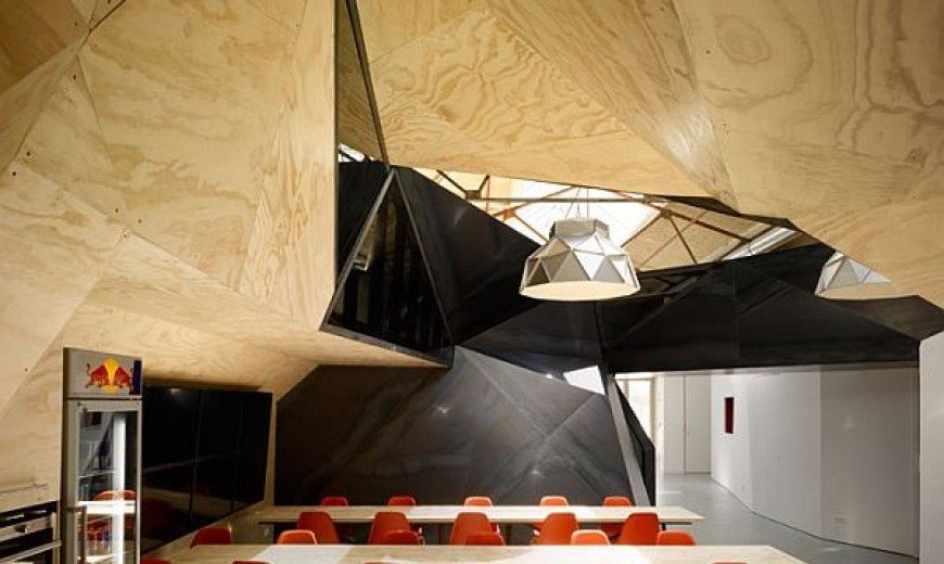 Office Design: Red Bull HQ in Amsterdam by Sid Lee Architecture