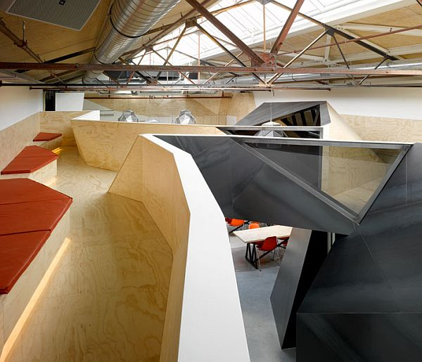Red Bull Offices office design: red bull hq in amsterdamsid lee architecture