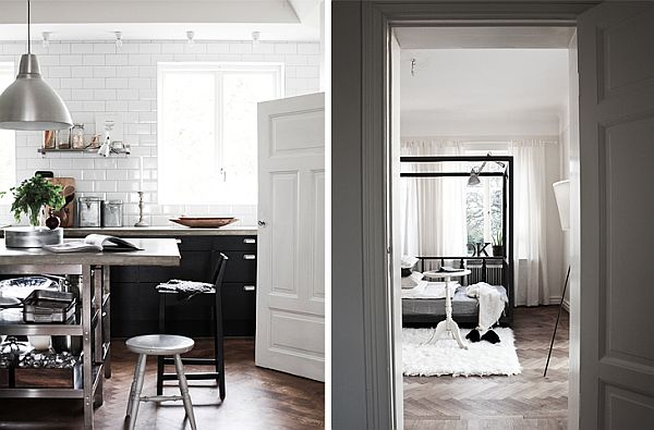 Scandinavian House 3 Scandinavian House Designed with Simple Black and White Hues