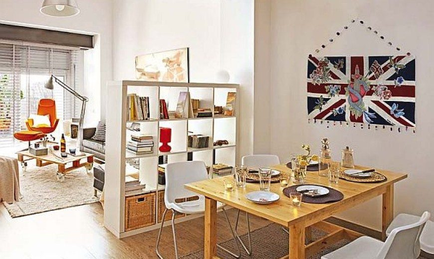 Small Apartment Redecoration in Barcelona for Young Couple