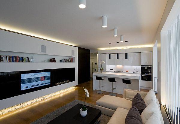 led beleuchtung wohnzimmer decke: wohnzimmerdecke in beste haus ... - Moderne Wohnzimmer Beleuchtung