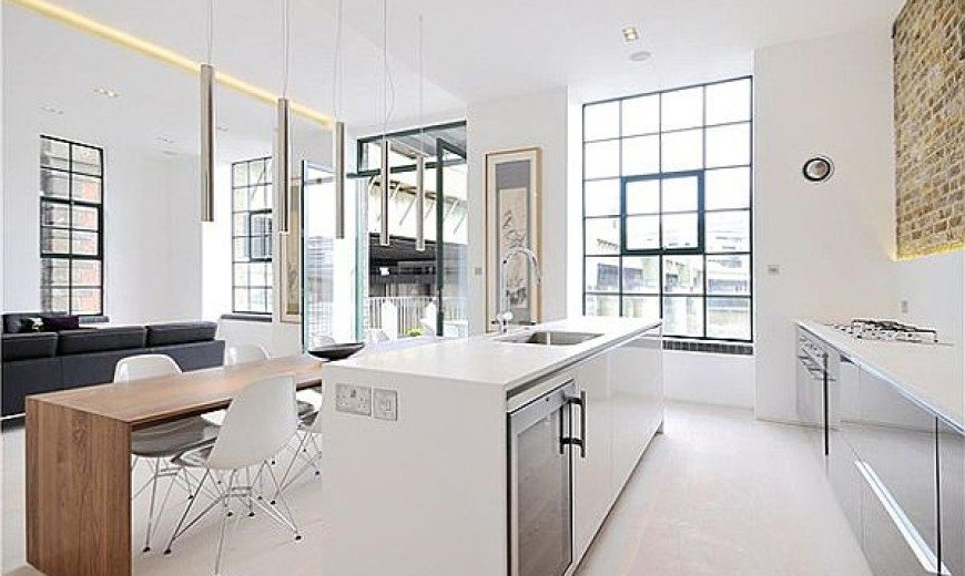 Clink Street Flat Sports Elegant White Interiors