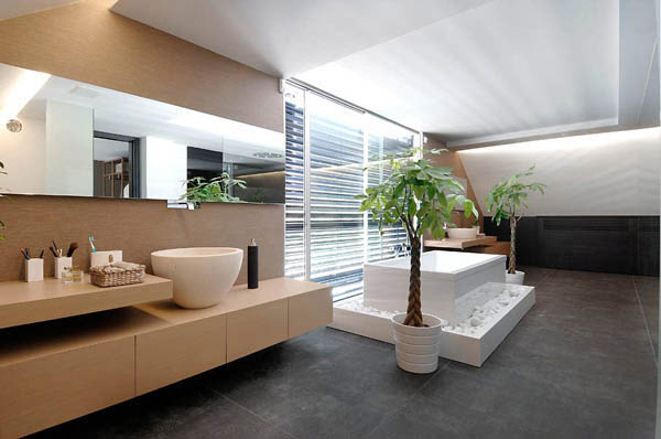 contemporary chalet house in madrid looks nuts. Black Bedroom Furniture Sets. Home Design Ideas