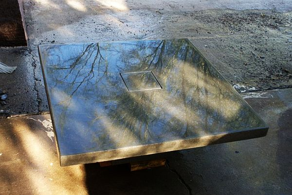 Concrete Coffee Tables Holding Up To Wear And Tear