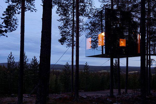 Sweeden Treehotel exterior
