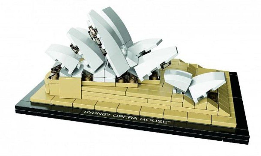 LEGO Architecture Replicates Sydney Opera House