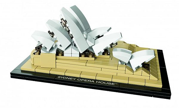 Sydney Opera House LEGO 1 LEGO Architecture Replicates Sydney Opera House