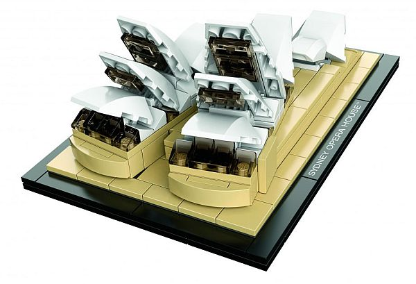Sydney Opera House LEGO 2 LEGO Architecture Replicates Sydney Opera House