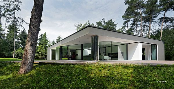 Villa Veth 2 Villa Veth is a Blend of Modern and Classical Architecture