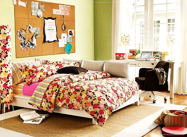 airy girls rooms