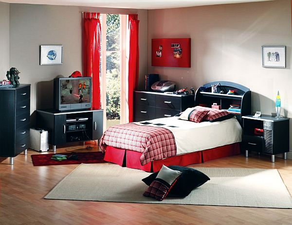 boys room interior design - Bedroom For Teenage Guys