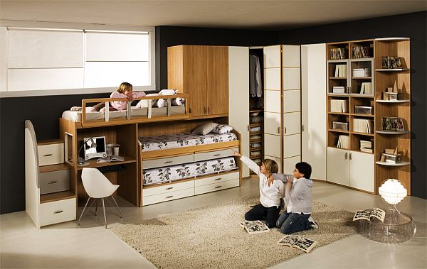 ... Teenage Boys Room With Bunk Beds ...