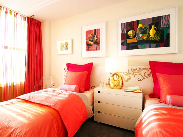 Teenage girls rooms inspiration 55 design ideas - Colorful teen bedroom designs ...