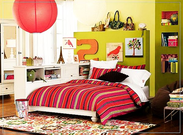 colorful young girls rooms