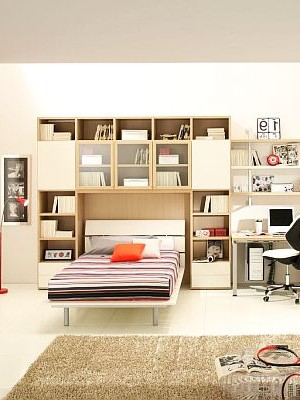 contemporary Teenage Boys Rooms