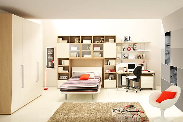 Contemporary teenage boys Modern bedroom ideas for teenage guys