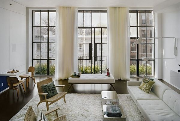 contemporary interior apartment New York 1 Elegance Meets Purpose at 7th Street Residence