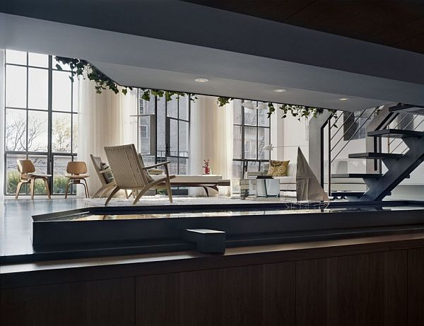 contemporary interior apartment New York 12