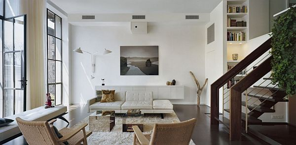 contemporary interior apartment New York 2 Elegance Meets Purpose at 7th Street Residence