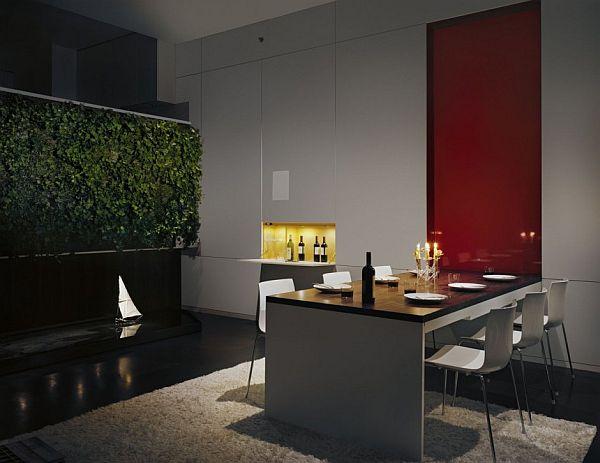 contemporary interior apartment New York 6